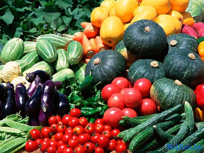 овощи и фркты