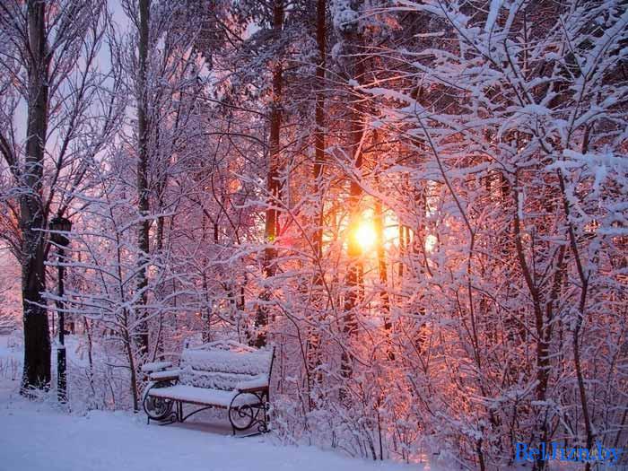 зима в Беларуси