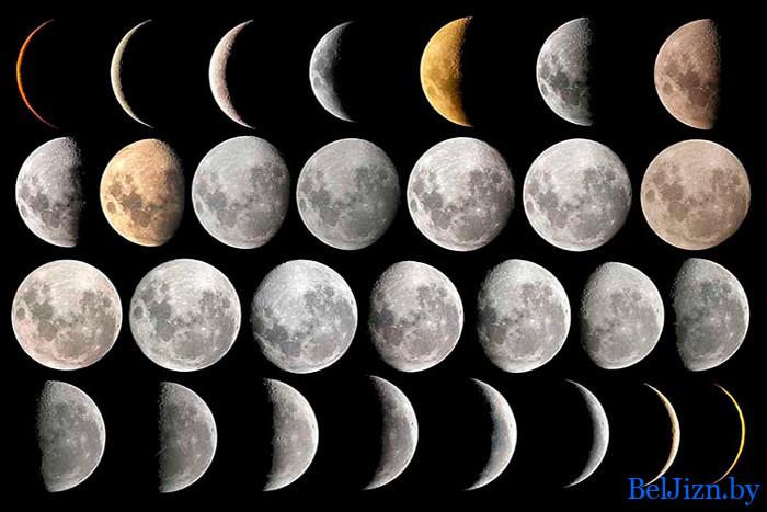 лунный календарь на сентябрь 2020 года в Беларуси